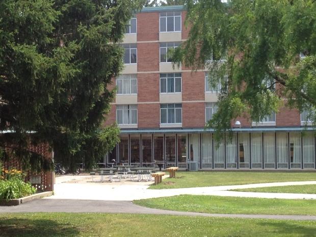 Valparaiso University: Brandt Hall dormitory where I lived my sophomore, junior, and senior years.