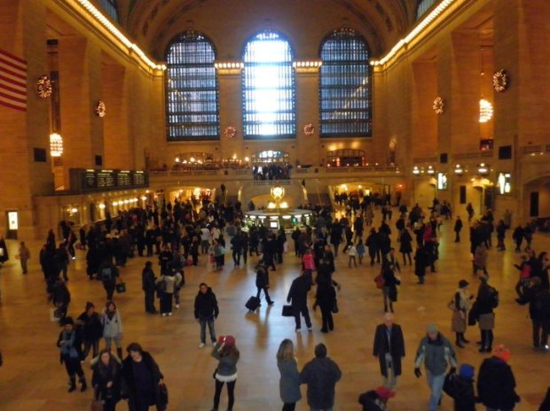 NYC's Grand Central Station (Photo: DY, 2010)