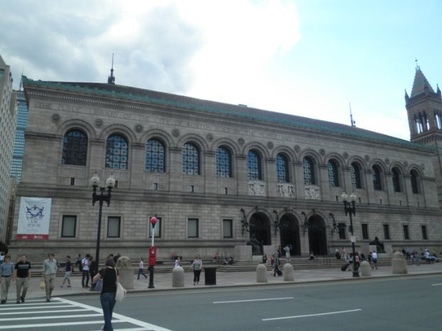 Library's Copley Square entrance (Photo: DY, 2011)