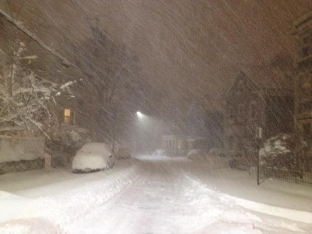 Jamaica Plain, Boston, February 2013 (Photo: DY)
