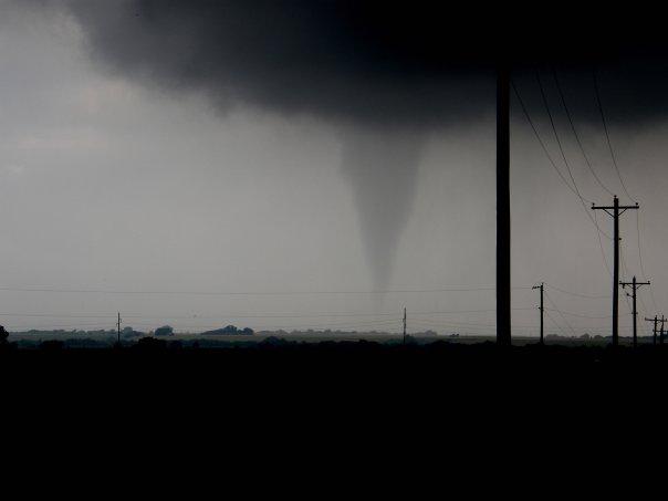 Tornado near Hennessey, Oklahoma