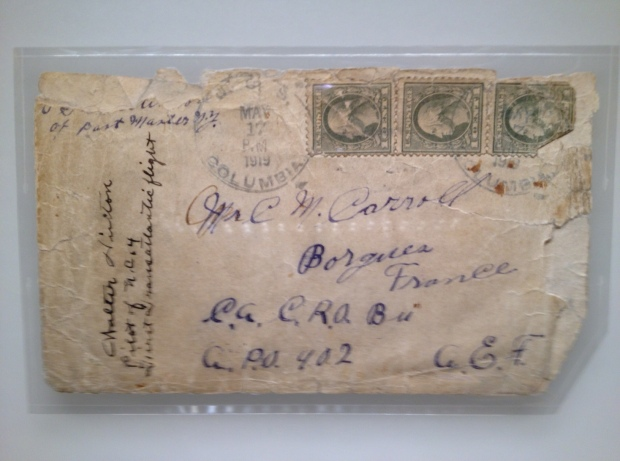 Here's when early air mail went right...