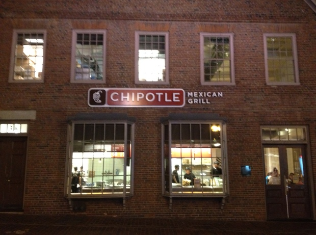 Chipotle, downtown Boston (Photo: DY)