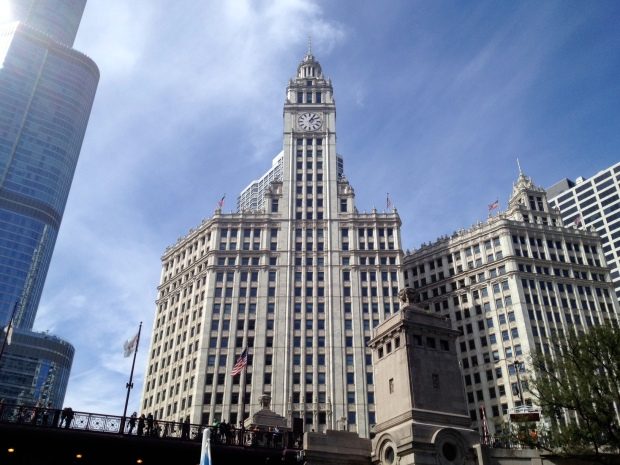 Wrigley Building, Chicago (Photo: DY, 2014)