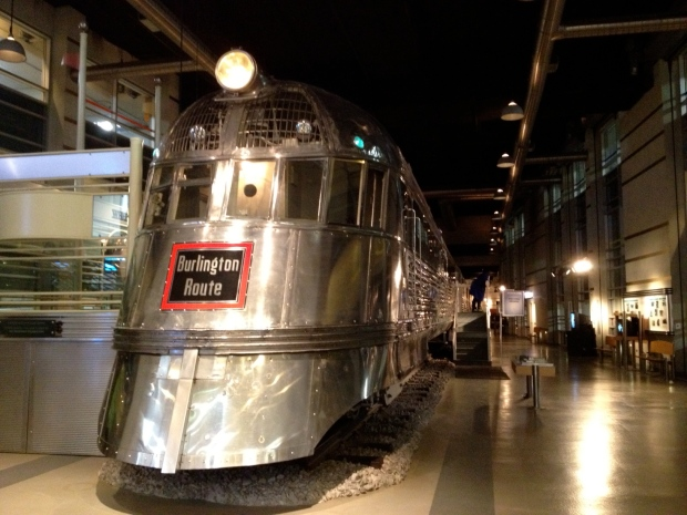 Pioneer Zephyr, Museum of Science and Industry, Chicago (Photo: DY, 2014)