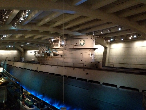 U505 submarine, Museum of Science and Industry, Chicago (Photo: DY, 2014)