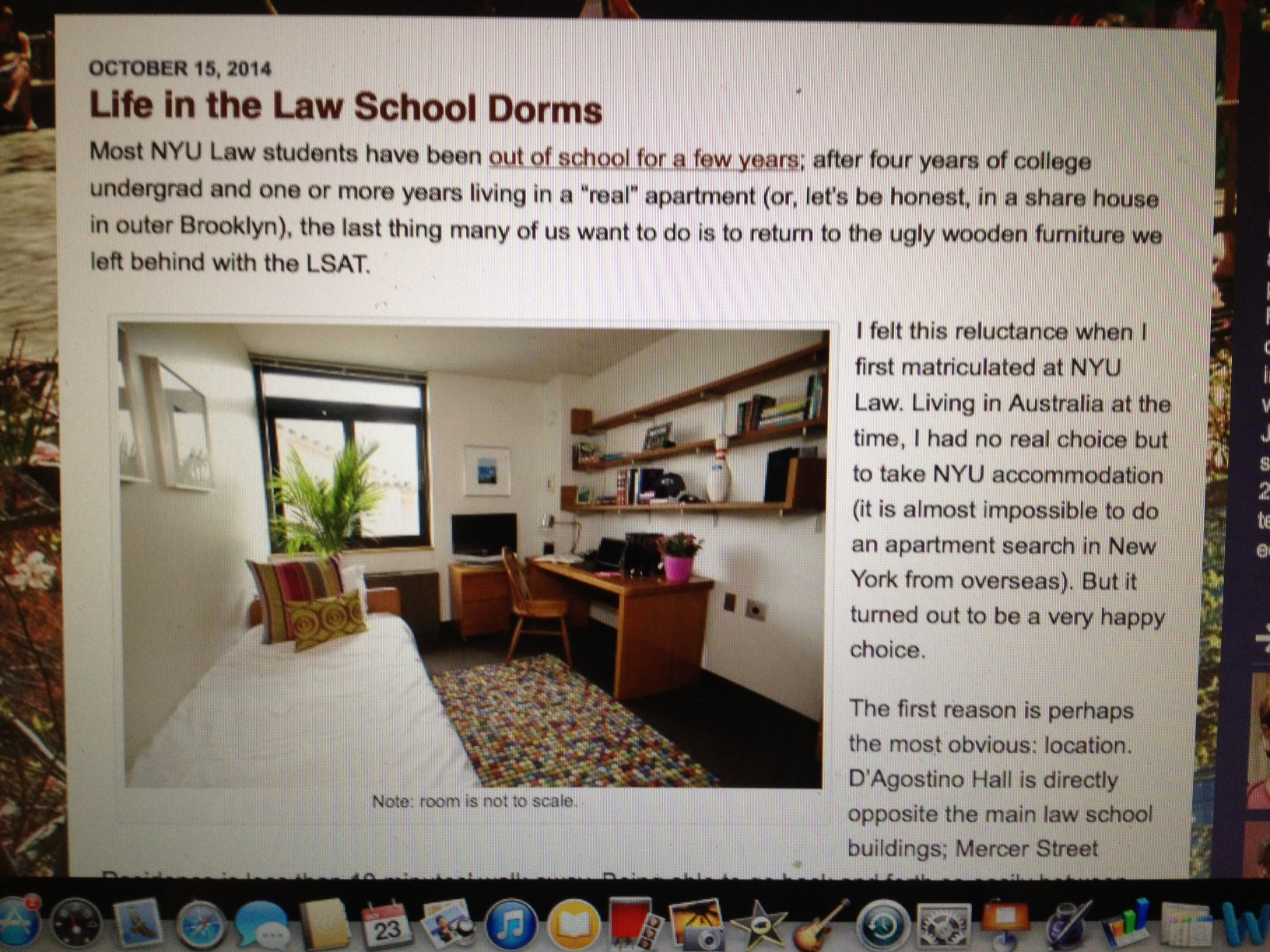 From Blogs Law Nyu Edu Lifeatnyulaw Life A Current Nyu Law Dorm Room
