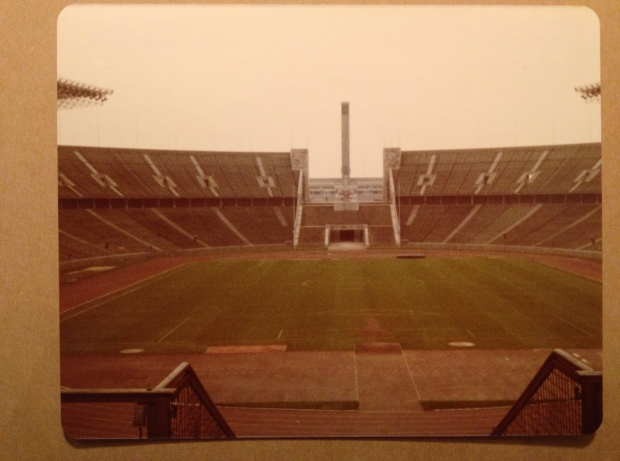 1936 Olympic Stadium, Berlin (Photo: DY, 1981)