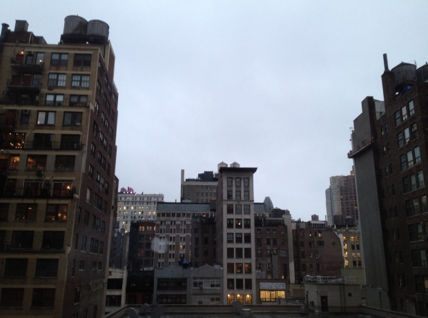 A throwback view -- I want to name it The Naked City after the old movie and TV show -- from my midtown Manhattan hotel room