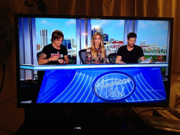 Judges Keith Urban, Jennifer Lopez, and Harry Connick, Jr.