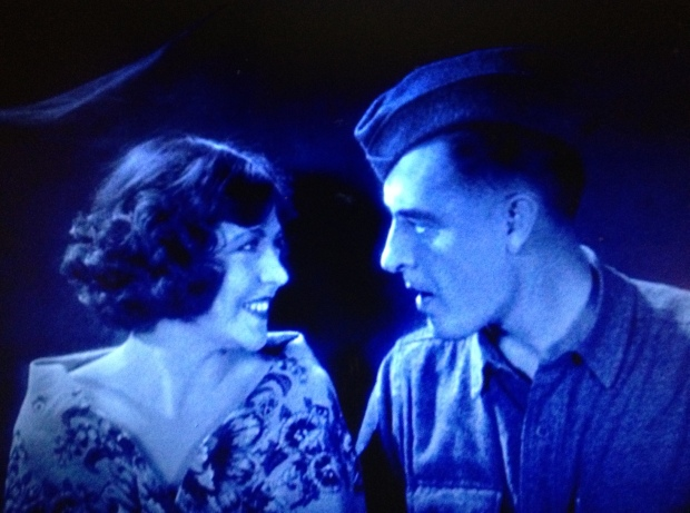 Renee Adoree and John Gilbert