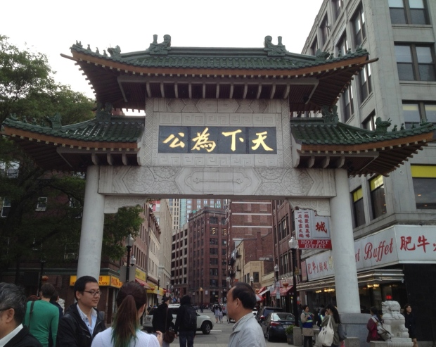 Boston Chinatown (Photo: DY)