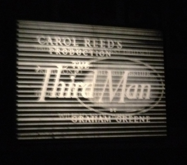 A film clip by the museum's co-founder, running on an old-style projector.