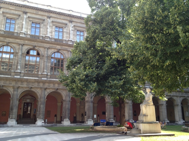 Courtyard of the Main Building of the University of Vienna