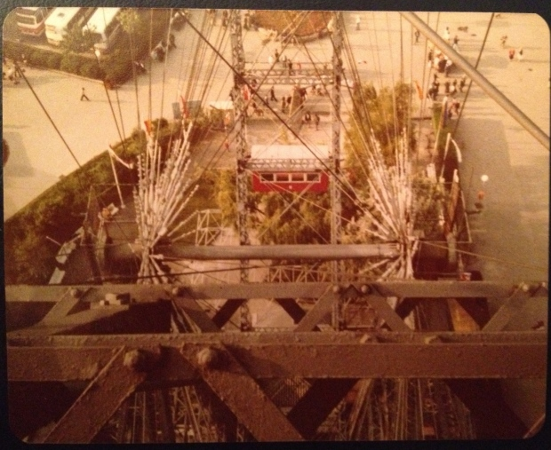Prater Wheel, Vienna (Photo: DY, 1981)
