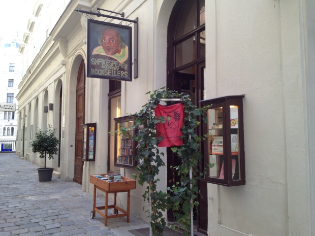 In the heart of old Vienna is this neat little bookshop