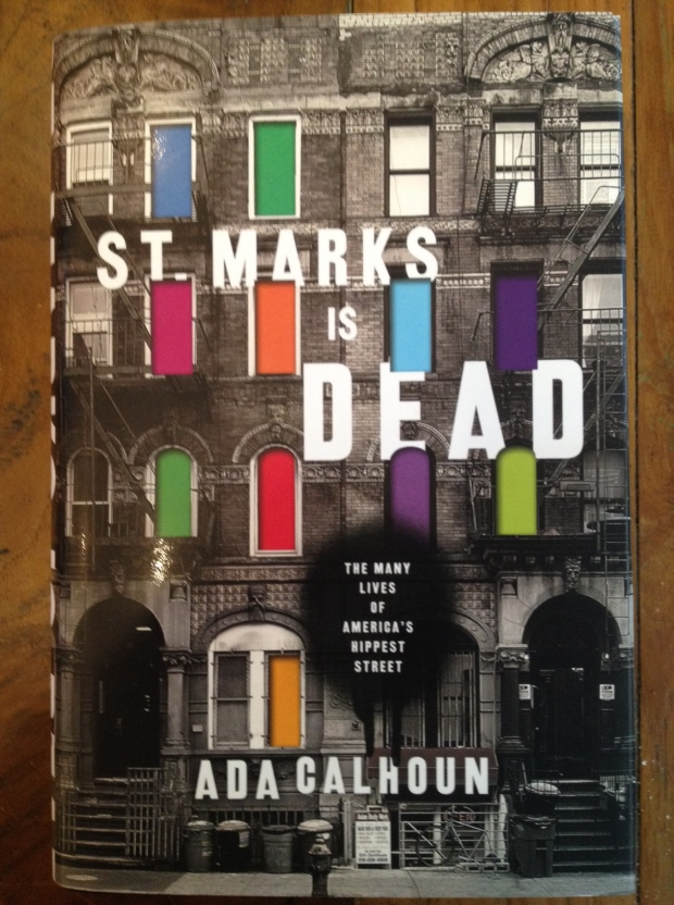 And speaking of the East Village, this new history of historic St. Mark's Place (Photo: DY)