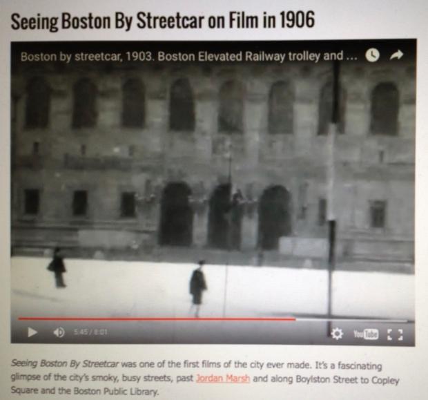 Screenshot of New England Historical Society webpage