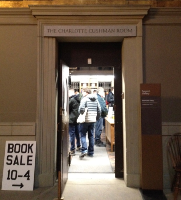 Friends of the Boston Public Library book sale