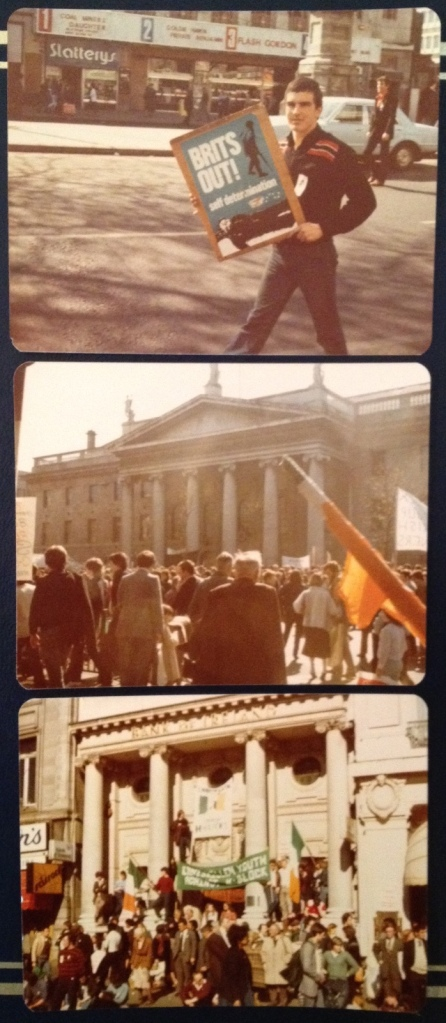 Easter weekend in Dublin, 1981 (photo: DY)