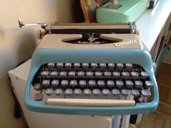Adeline typewriter