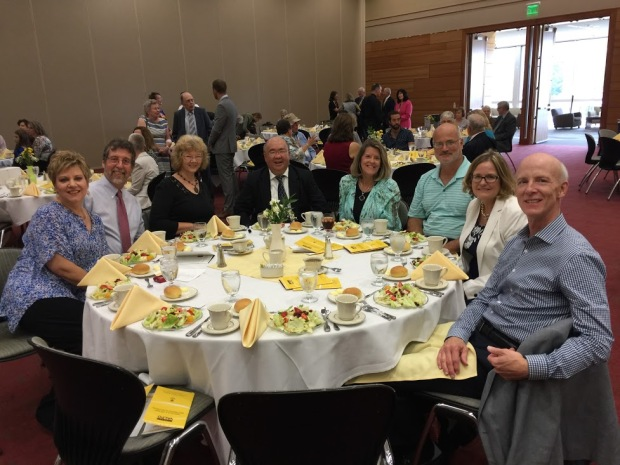 Luncheon for awardees, family, and friends (Photo: Chet Marshall)