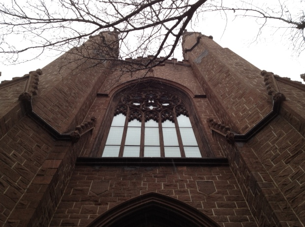 Home to the First Unitarian Congregational Society, Brooklyn.